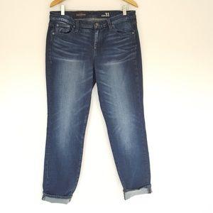 J. Crew Broken In Boyfriend Fit Jeans Size 31
